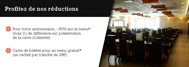 Réduction du restaurant Wok Classic